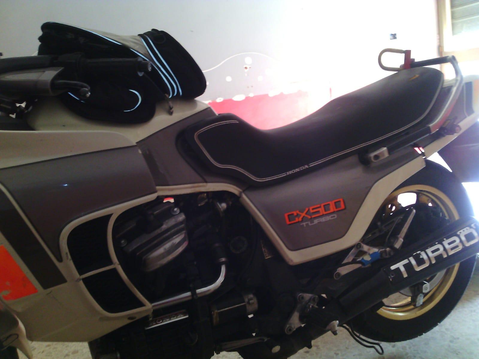 HONDA CB500 TURBO